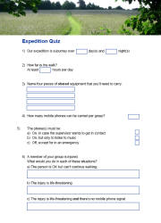 Click here to download the 'DofE Expedition Quiz' teaching resource