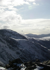 View from Tryfan, Snowdonia