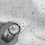 Navigation with Map and Compass
